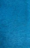 Shiny blue fabric Stock Image