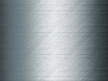 Shiny blue grey metal background Stock Photography