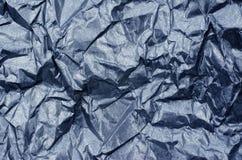 Shiny Blue Paper Texture Metallic Background Royalty Free Stock Photo