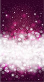 Shiny blurred dark cherry red holiday background invitation Royalty Free Stock Image