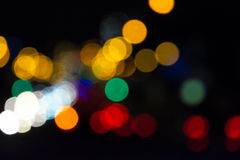 Shiny bokeh Royalty Free Stock Photography