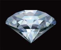 A Shiny bright diamond. Royalty Free Stock Image