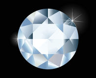 Shiny bright diamond Royalty Free Stock Photos
