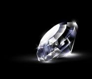 Shiny bright diamond. Royalty Free Stock Photos