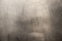 Brushed metal texture. A shiny brushed silver metal texture for your backgrounds Stock Photography