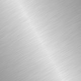 Shiny brushed steel Royalty Free Stock Photos