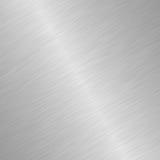 Shiny brushed steel Royalty Free Stock Photos