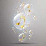 Shiny Bubbles Royalty Free Stock Photo