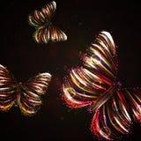 Shiny butterfly Stock Photos