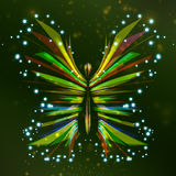 Shiny Butterfly abstract Royalty Free Stock Photos