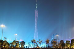 Shiny Canton Tower Stock Photography