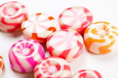 Shiny caramel candies Royalty Free Stock Photo