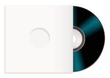 Shiny cd and case Stock Photo