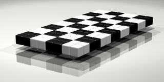 Shiny Checkered Flag Royalty Free Stock Photos