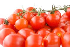 Shiny Cherry tomatoes Royalty Free Stock Photo