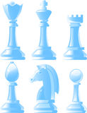 Shiny chess pieces in vector Stock Photo