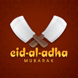 Shiny choppers for Eid-Al-Adha celebration. Royalty Free Stock Photography