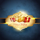 Shiny christmas background Royalty Free Stock Photo