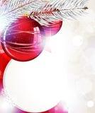 Shiny Christmas background Royalty Free Stock Photos