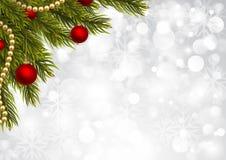Shiny christmas background Stock Images