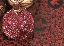 Shiny christmas ball Royalty Free Stock Photos