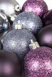 Shiny christmas ball background. Stock Photos