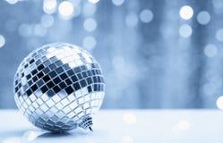 Free Shiny Christmas Ball Over Blurry Background Stock Image - 20562821