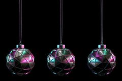 CHRISTMAS BALL SET 19 royalty free stock photography