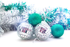 Shiny Christmas balls Royalty Free Stock Photo