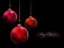 Free Shiny Christmas Balls | Vector Illustration Royalty Free Stock Photo - 17046745