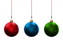 Shiny Christmas Balls | Vector Illustration Royalty Free Stock Photo