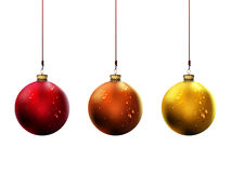 Shiny Christmas Balls | Vector Illustration Royalty Free Stock Images