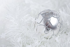 Shiny christmas bauble Royalty Free Stock Photography