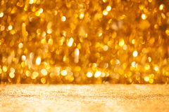 Shiny christmas bokeh background Royalty Free Stock Photo