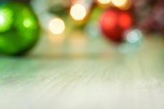 Shiny Christmas Ornaments Background Stock Photos