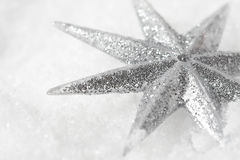 Shiny christmas star Stock Photo