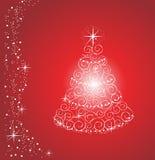 Shiny Christmas Tree Stock Photo