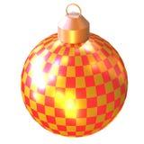 shiny christmas tree ball Royalty Free Stock Photography