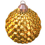 shiny christmas tree ball Stock Images