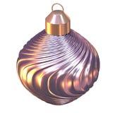 shiny christmas tree ball Stock Photography