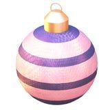 shiny christmas tree ball Stock Image