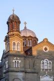 Shiny church roof Royalty Free Stock Photo