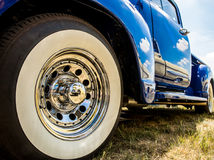 Shiny classic car Royalty Free Stock Images