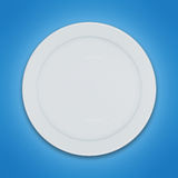 Shiny clean plate Royalty Free Stock Photography