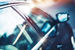 Shiny Clear Car Body Stock Photo