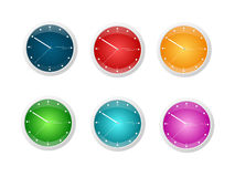 Shiny Clocks Stock Photos