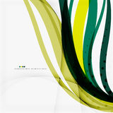 Shiny colorful abstract background, green and blue Stock Images