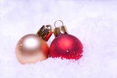 Shiny colorful christmas balls Royalty Free Stock Photo