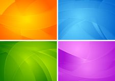 Shiny colourful backgrounds. Vector Royalty Free Stock Image