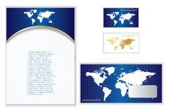 Shiny corporate identity Stock Photos